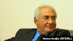 Ish-shefi i Fondit Monetar Ndërkombëtar, Dominique Strauss-Kahn.