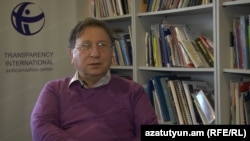 Armenia - Varuzhan Hoktanian, head of the Armenian branch of Transparency International.