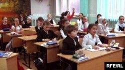 Казанның 149-нчы гимназиясендә татар теле дәресе