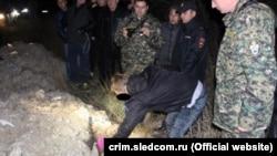 Мужчина показал, где закопал убитую девочку