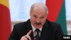 Belarusian President Alyaksandar Lukashenka