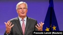 Керівник делегації ЄС на переговорах з Лондоном Мішель Барньє