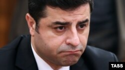 Turkish presidential candidate Selahattin Demirtas (2015 file photo)