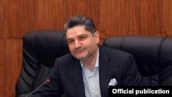 Премьер-министр Армении Тигран Саргсян выступает на заседании Совета попечителей Национального фонда конкурентоспособности Армении, Ереван, 22 января 2011 г.