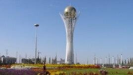 Монумент «Астана – Байтерек» - символ независимого Казахстана.