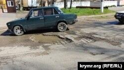 Дорога в Керчи, иллюстрационное фото