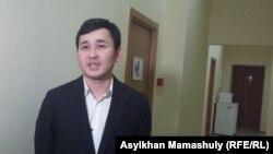 Асет Матаев, генеральный директор информационного агентства КазТАГ. Алматы, 22 февраля 2016 года.