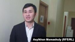 Әсет Матаев, КазТАГ ақпарат агенттігінің директоры. Алматы, 22 ақпан 2016 жыл