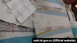 Проекти реконструкції набережної Сак