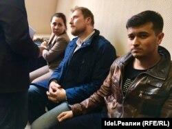 Задержанные в Казани активисты