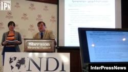 NDI-ის გამოკვლევის პრეზენტაცია