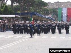 Военно-морская пехота. Рим, 2007 год
