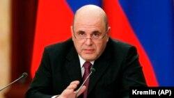 Премьер-министр России Михаил Мишустин, 25 марта 2020 г.