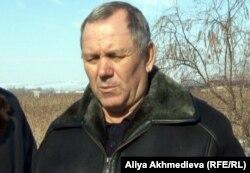 "Глава крестьянского хозяйства ""Нива"" Александр Авдеев."