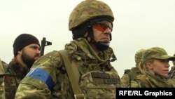 Ukrainsky legion training