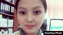 Махаббат Темирбекова, которая ищет сведения о своем прадеде Абике Каламбайулы.