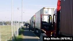 Carinska unija podrazumeva veći stepen integracije od CEFTE, foto: kamioni na jednoj od granica između balkanskih država