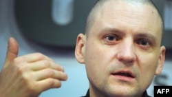 Russian opposition opposition leader Sergei Udaltsov