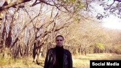 Российский блогер Виктор Краснов, обвиняемый в оскорблении чувств верующих в российской социальной сети «ВКонтакте».