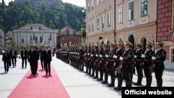 Presidenti i Kosovës, Hashim Thaçi, në Slloveni.