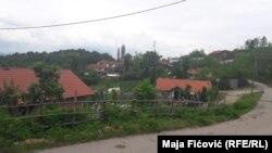 Fshati Zhazhë në Zveçan