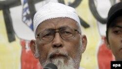 Muslim Cleric Abu Bakar Bashir
