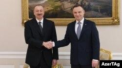İlham Əliyev və Andrzej Duda
