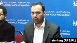 سید اکرام افضلی رئیس دیده بان شفافیت افغانستان