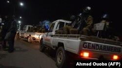 Сили безпеки на місці нападу в столиці Буркіна-Фасо Уагадугу, 13 серпня 2017 року