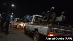 Силы безопасности Буркина-Фасо в Уагадугу. 13 августа 2017 года