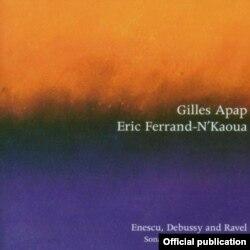 Coperta CD-ului cu muzica lui George Enescu