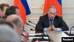 Владимир Путин, Ново-Огарёво, 30 июля2014 года