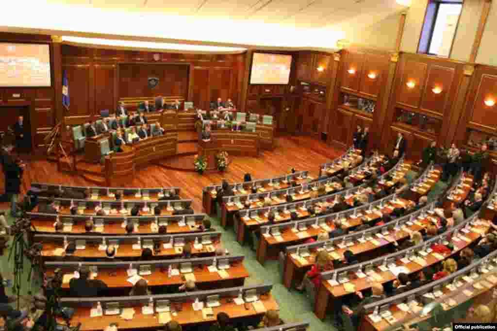 Svečana sednica Skupštine Kosova, 17. februar 2013.