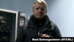 Ағылшын тілі оқытушысы Грэйем. Алматы, 18 қаңтар 2013 жыл.