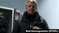 Грейем, британец, работающий в Казахстане. Алматы, 18 января 2013 года.