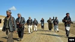 Ýerli owgan polisiýasynyň agzalary, Gunduz, dekabr, 2014.