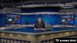 Özbəkistan televiziyasında xəbərlər