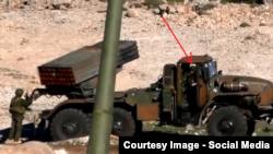 """Система залпового огня """"Град"""" и российские военные в Сирии"""