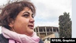 Әзербайжандық журналист Хадиджа Исмаилова.