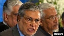 د پاکستان د خزانې وزیر اسحاق ډار