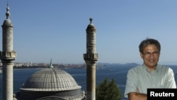 Orhan Pamuk la Istanbul