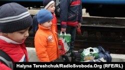 Кримські біженці у Львові, 14 квітня 2014 року