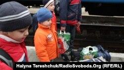 Кримські беженці у Львові, 14 квітня 2014 року