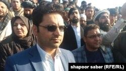 بصیر احمد دانشیار یکی از نامزدان انتخابات ولسی جرگه در هرات