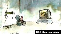 Карикатура Абдула Яссира