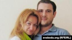 Сяргей Гаравы і Сьвятлана Скіба
