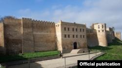 Крепость Нарын-Кала в дагестанском городе Дербент.