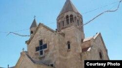 Սիրիա - Հայկական Սուրբ Աստվածածին եկեղեցին Հալեպում, 13-ը հուլիսի, 2016թ․