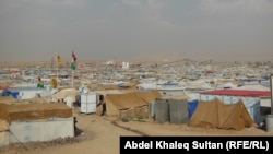مخيم دوميز للاجئين قرب دهوك
