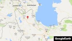 شربیان در ۱۰۰ کیلومتری شرق تبریز واقع است